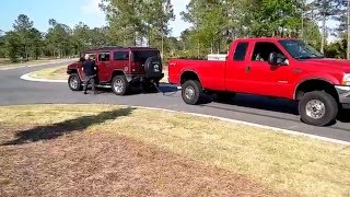 Download Ford f250 .vs. Hummer! Video