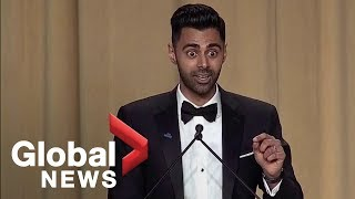Download Daily Show's Hasan Minhaj White House Correspondents' Dinner full monologue Video