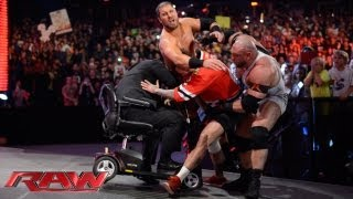 Download Ryback and Curtis Axel attack CM Punk: Raw, Sept. 23, 2013 Video