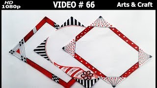 Download Beautiful Project Design | video#66 | Arts & Craft Video