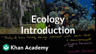 Download Ecology introduction | Ecology | Khan Academy Video