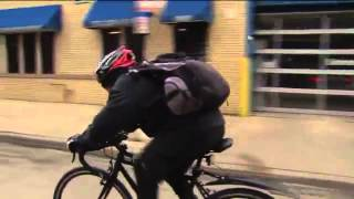 Download Amazing Chicago man bikes 20 miles Video