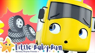 Download Flat Tires Song - Go Buster - Baby Songs | Nursery Rhymes and Kids Songs | Little Baby Bum Video