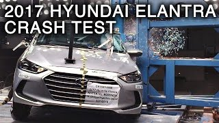 Download 2017 Hyundai Elantra Side Pole Crash Test Video