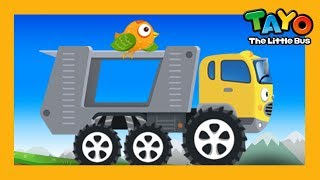 Download Tayo strong car carrier Carry l Repair Game l Learn Street Vehicles l Tayo the Little Bus Video