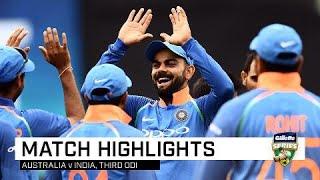 Download Dhoni, India seal tense ODI series win   Third Gillette ODI Video