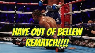 Download Breaking! - David Haye INJURED + OUT of Bellew Rematch - Career Over? - Disaster For Eddie Hearn? Video