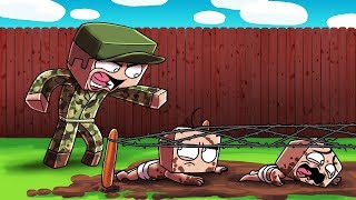 Download Minecraft | Baby Sitter - MILITARY DRILL SERGEANT BABY SITTER! (Strict or Mean?) Video