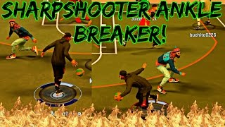 Download ANKLE BREAKER WITH A SHARPSHOOTER! CRAZY SHARPSHOOTER WITH ELITE CROSSOVER MOVES! - NBA 2K17 MyPark Video
