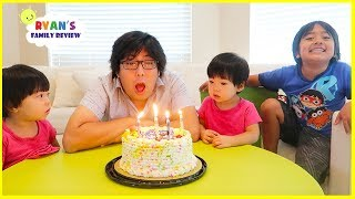 Download Happy Birthday Daddy with Opening Presents from Ryan!!!! Video