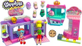 Download Shoppies Jessicake & Polly Pocket Go To Shopkins Slumber Party Fun Kinstructions Playset Video