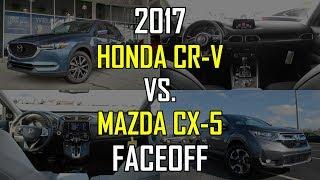 Download 2017 Mazda CX-5 Grand Touring vs. 2017 Honda CR-V EX-L: Faceoff Comparison Video