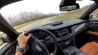 Download 2017 Cadillac CT6 - POV First Impressions (binaural audio) Video