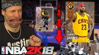 Download DOWNGRADED PLAYER CHALLENGE! NBA 2K18 Video