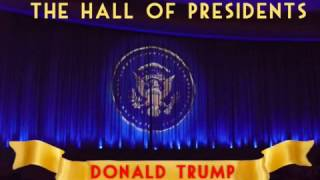 Download Hall of Presidents Sneak Peek Donald Trump Video