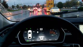 Download More low visibility driving with tesla autopilot AP1 Video
