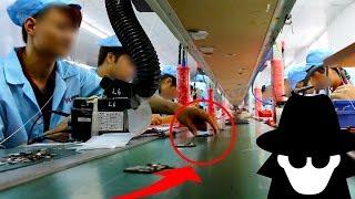 Download HIDDEN Camera in CHINA Smartphone Factory Video