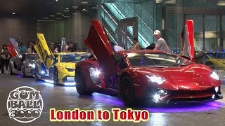 Download Japan's Insane LED Lamborghinis INVADE Gumball 3000 Steve's POV Video