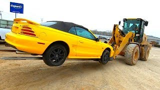 Download Copart 94 Ford Mustang GT 5.0L - Sat for 3 Years!! $1485 Win!! Video