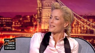 Download Gillian Anderson Is Finding #PenisOfTheDay Pics in Nature - #LateLateLondon Video