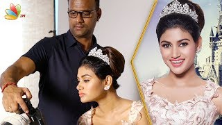 Download Oviya In Beauty and the Beast | Once Upon A Time Photoshoot Making | Karthik Srinivasan Video