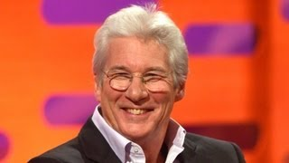 Download Richard Gere gets recognised in unlikely places - The Graham Norton Show - BBC One Video