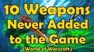 Download 10 Weapons Never Added to the Game (but do show up in game files) Video