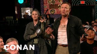 Download ″The Walking Dead″ Invades CONAN Atlanta - CONAN on TBS Video