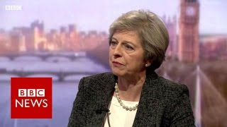 Download Theresa May 'won't be afraid' to challenge Donald Trump - BBC News Video