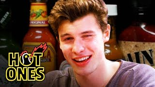 Download Shawn Mendes Reveals a New Side of Himself While Eating Spicy Wings   Hot Ones Video