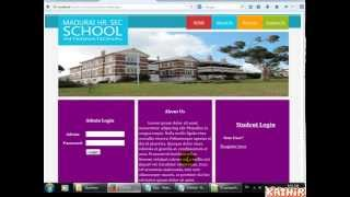 Download School Management System - PHP, MySql, CSS Video