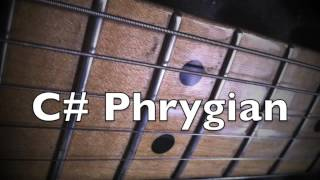 Download C# Phrygian Mode - Spanish Vibe Groove Backing Track Video