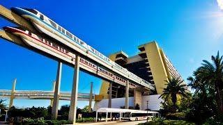 Download Walt Disney World Resort Monorail FULL CIRCUIT 60fps POV On-Ride Magic Kingdom GoPro Video