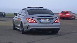 Download BRABUS Mercedes-Benz CLS63 S AMG La Performance! REVS + DRAG RACING! Video