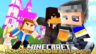 Download Minecraft FAMILY LIFE (EP.16) - LITTLE DONNY'S DAD FIGHTS WITH MOM'S BOYFRIEND!!! Video