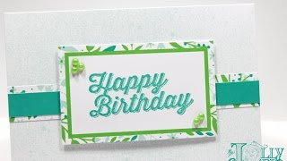 Download Stampin' Up! Birthday Card Gift Card Money Holder for VEDA Day 6 Video