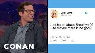 Download Andy Samberg: The Dalai Lama Tweeted His Support For ″Brooklyn Nine-Nine″ - CONAN on TBS Video
