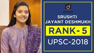 Download UPSC Topper Mock Interview, Srushti Jayant Deshmukh (Rank 5, CSE 2018) Video