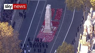 Download Armistice 100: UK falls silent to remember the fallen Video