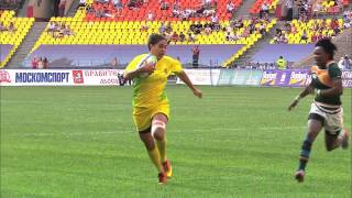 Download Women's Rugby World Cup Sevens - Day one highlights from Moscow Video