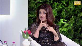 Download Watch: Twinkle Khanna bats for 'brave Tanushree Dutta' at HTLS 2018 Video