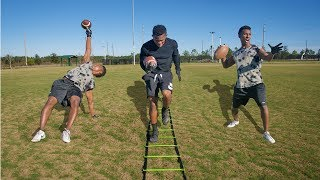 Download THE IMPOSSIBLE FOOTBALL OBSTACLE COURSE! Video