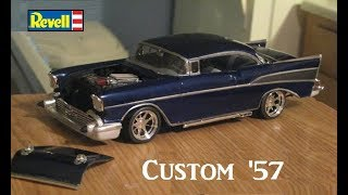 Download Revell 1957 Chevrolet Bel Air Modified Model Project -Time Lapse Video