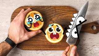 Download SOMETHING WEIRD HAPPENED TO FOOD - 24/7 DOODLES Video