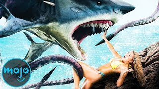 Download Top 10 Ridiculous Shark Movies Video