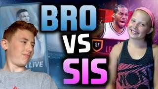 Download BROTHER VS SISTER PACK WARS - NBA LIVE MOBILE EDITION! SOUR WARHEAD WAGER Video