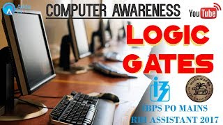 Download IBPS PO MAINS, RBI ASSISTANT | Logic Gates | Computer Awareness | Online Coaching SBI IBPS Bank PO Video