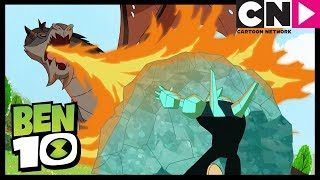 Download Ben 10 | Diamondhead Vs A Dragon! | Cartoon Network Video