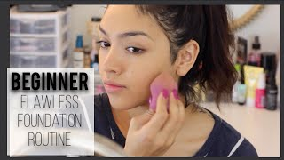 Download Beginners Flawless Foundation Routine Video