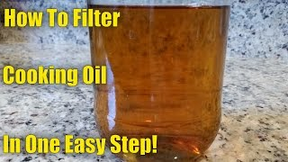 Download How To Filter and Reuse Cooking Oil in One Easy Step! Video